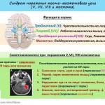 Синдром поражения мосто-мозжечкового угла
